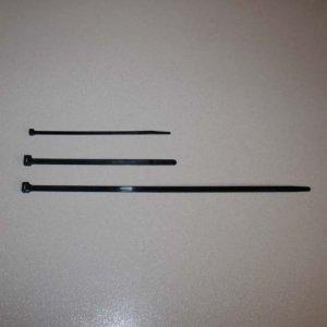 Plastic Cable Ties Black UV