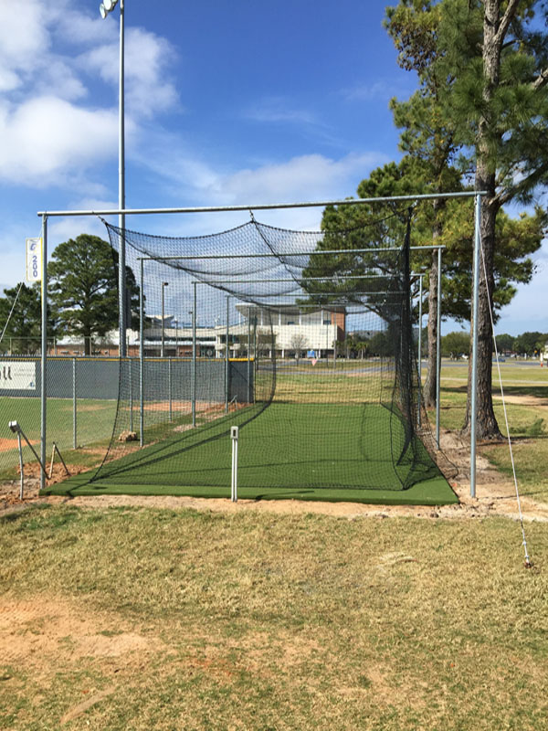 Heavy Duty Batting Cage Frame - Burbank Sport Nets