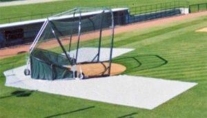 batting practice zone cage collar